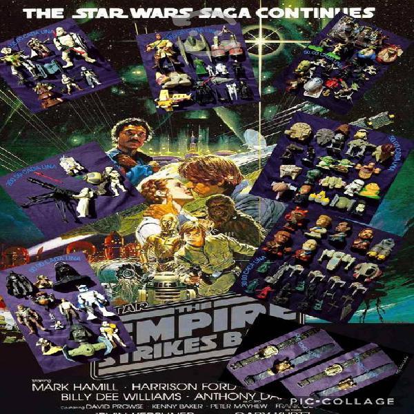 World of star wars figuras naves relojes