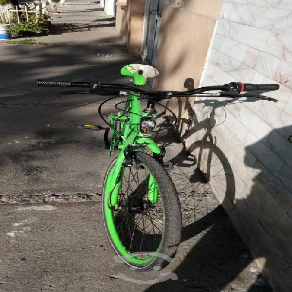Bicicleta shimano r26 con dinamos oh bike