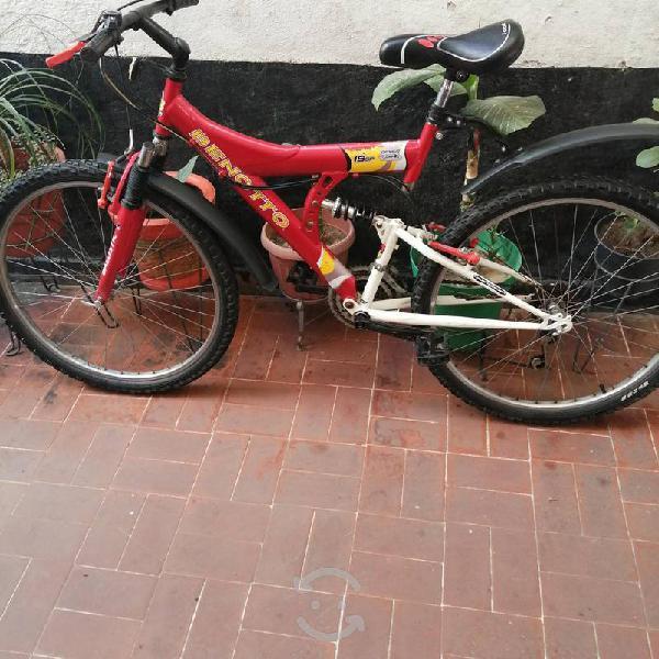 Bicicleta benotto r 26 seminueva