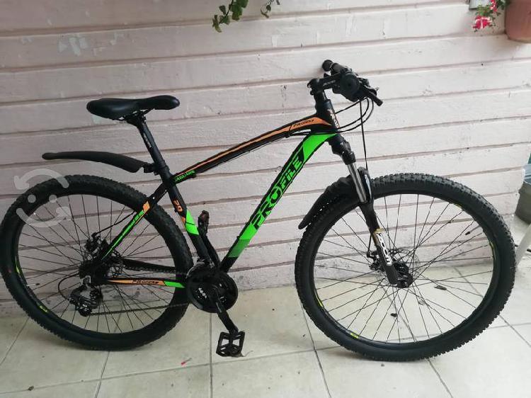 Bicicleta marca profile rodado 29 mediana