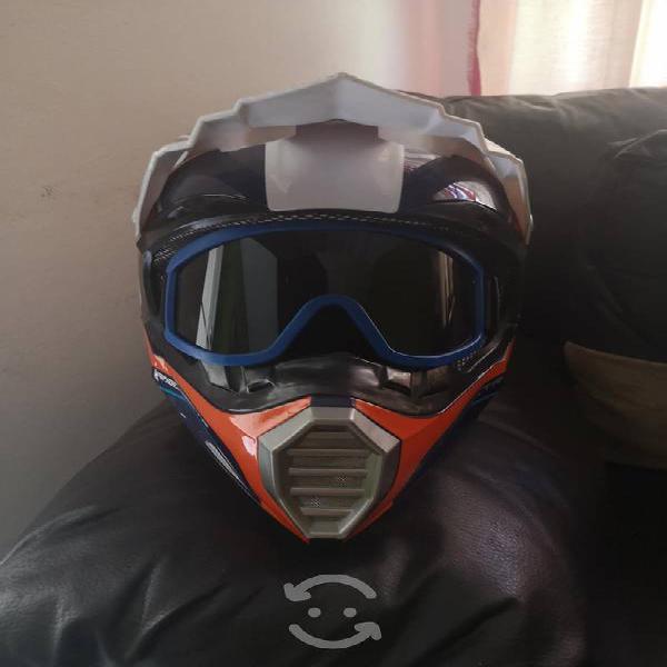 Casco motocross alessia