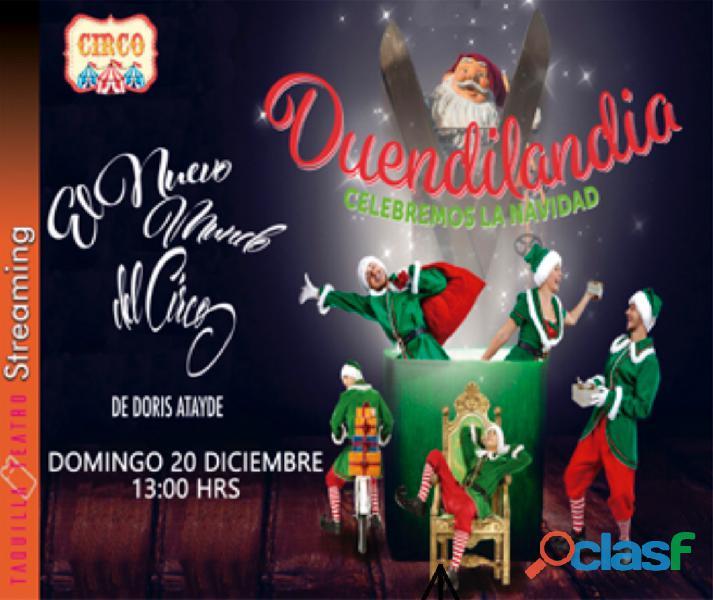 Show de Circo NAVIDEÑO VIRTUAL