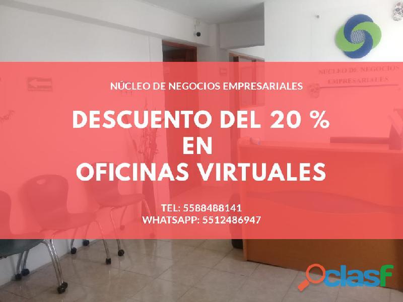 Oficina virtual con excelente ubicación