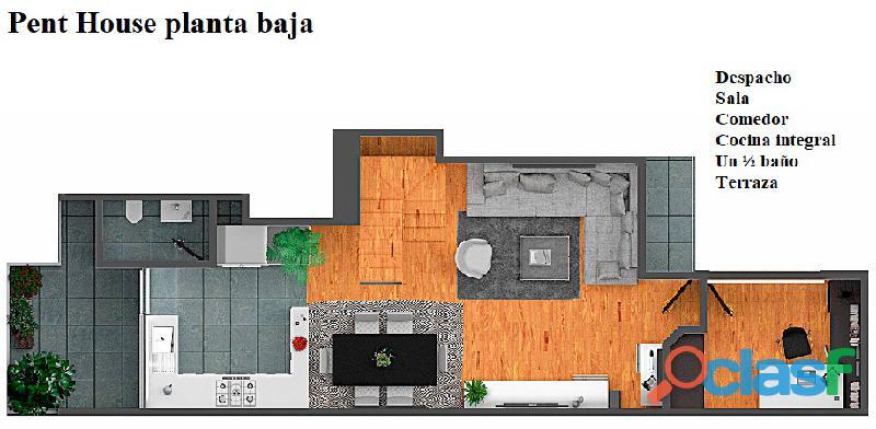 Pent House en venta 4 recámaras Eje Central, Col. Algarín 9