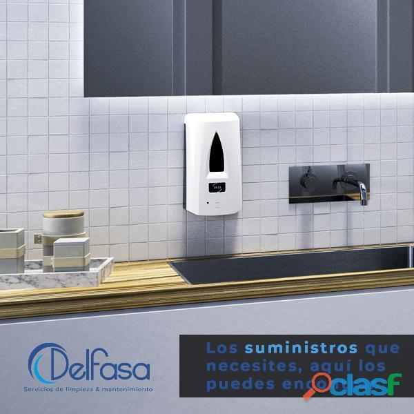 Venta de insumos y despachadores para baño