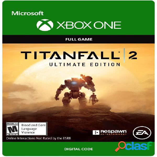 Titanfall 2: ultimate edition, xbox one - producto digital descargable