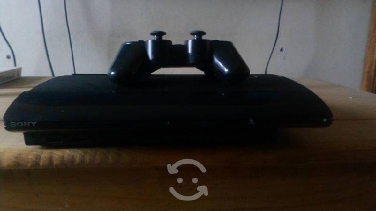 Consola ps3 con juegos.
