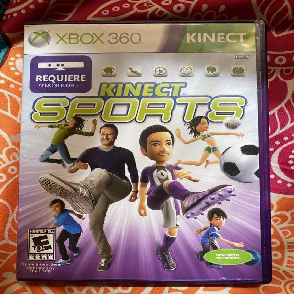 Juego xbox 360 kinect sports