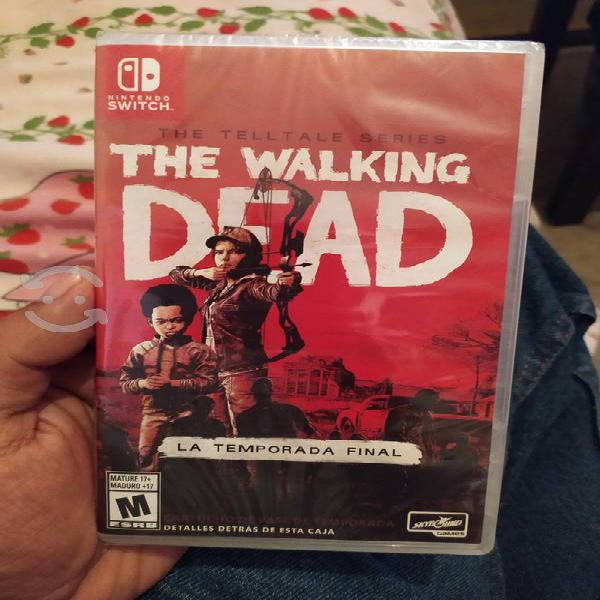 Juego the walking Dead nintendo switch