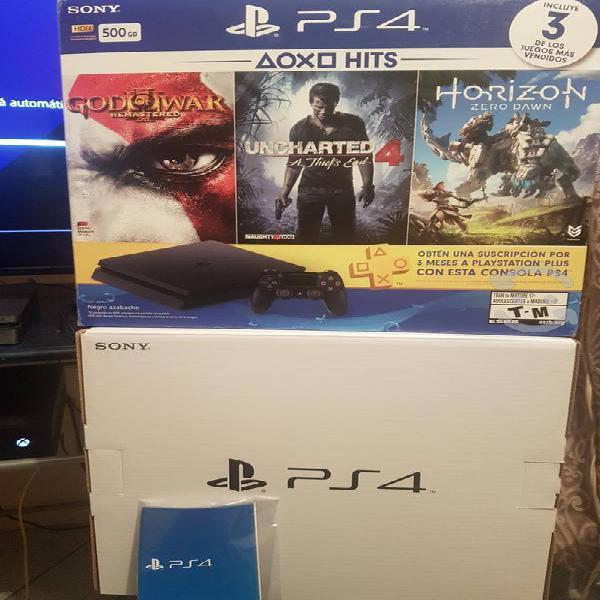 Playstation 4 slim con juegos