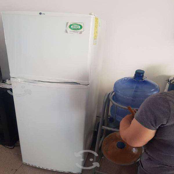 Refrigerador lg funcionando