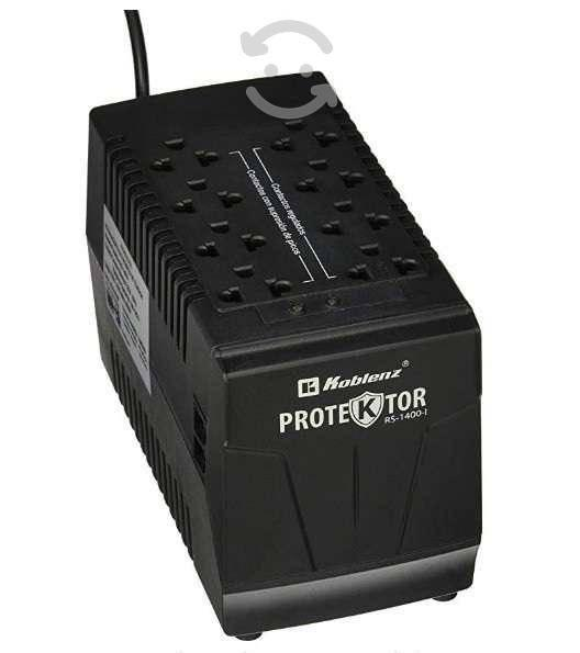 Regulador negro 1410 va 700 w casa trabajo 8 conta