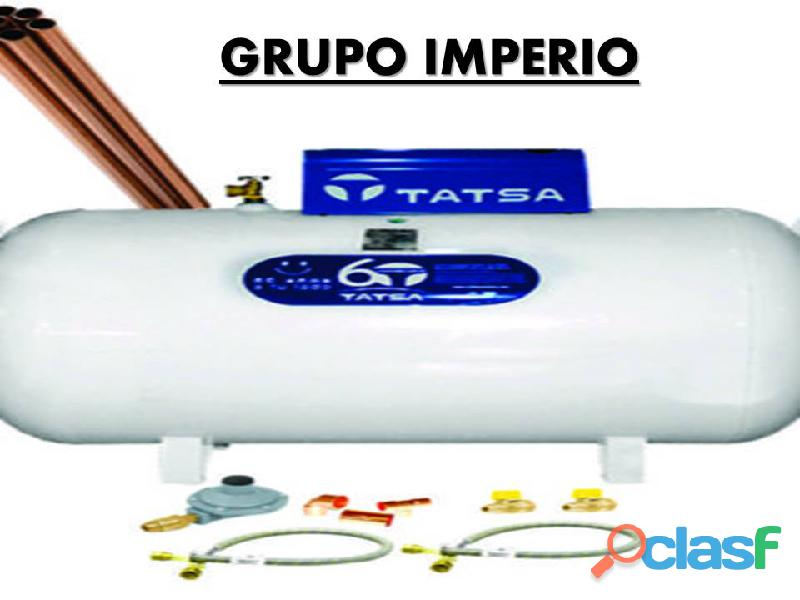 tanque TATSA de 300lts CON INSTALACION A SOLO $6,200