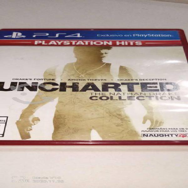 Uncharted nathan drake collection ps4