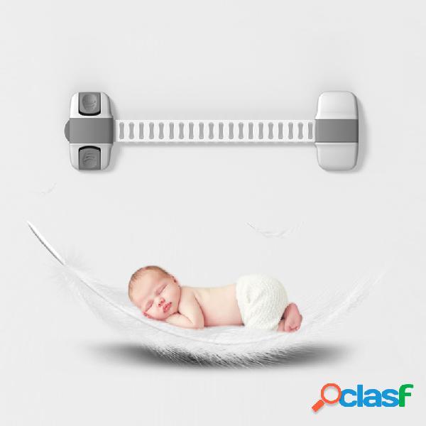 Seguridad para bebés bloqueo de protección bloqueo para niños seguridad para niños bloqueador de seguridad puertas cajones refrigerador