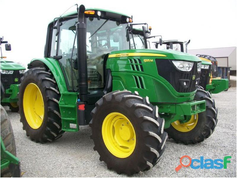JOHN DEERE 6125M TRACTOR AGRICOLA 1