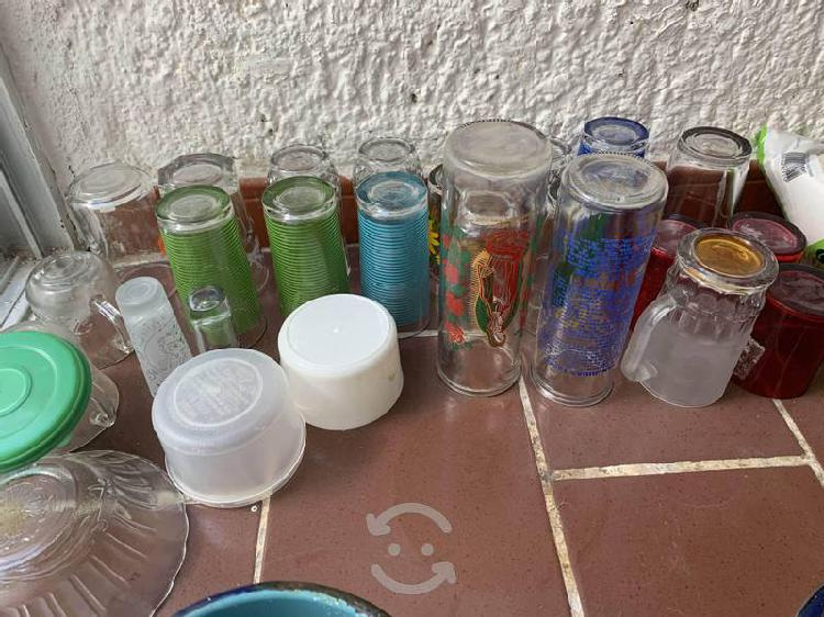 23 vasos de cristal