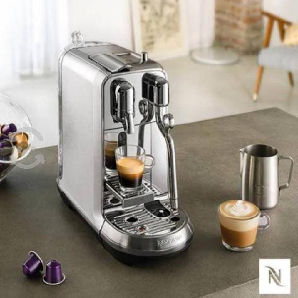 Cafetera nespresso creatista plus j520-mx-me-ne