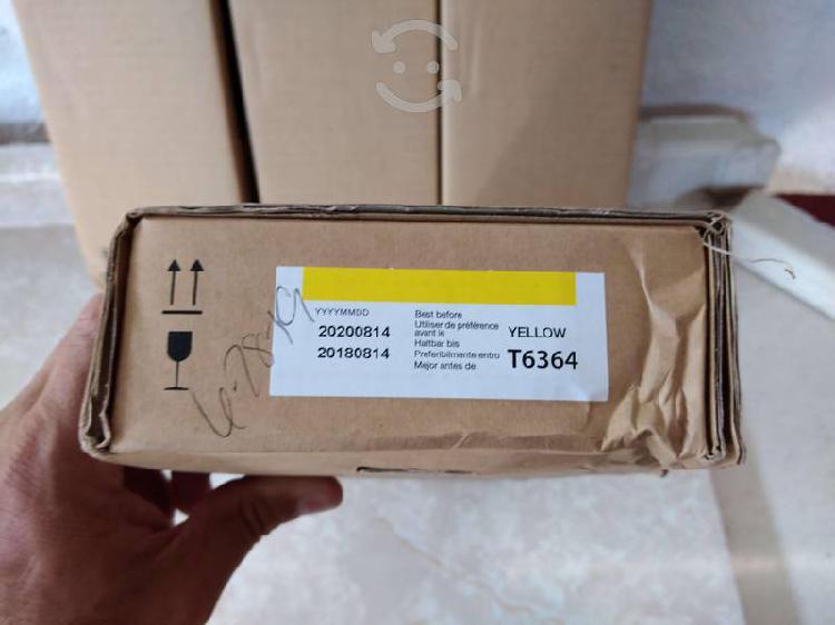 Cartucho tinta epson t6364 amarillo, 700ml