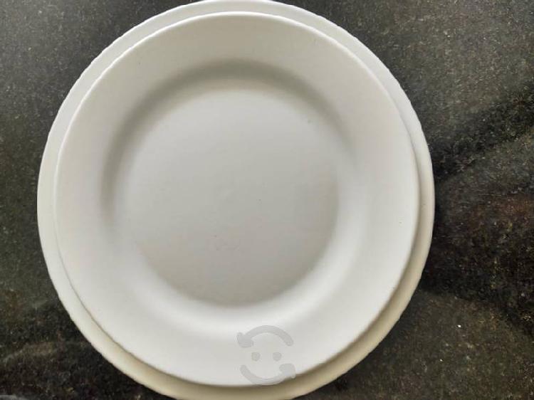 Vajilla de cerámica blanca excelentes condiciones