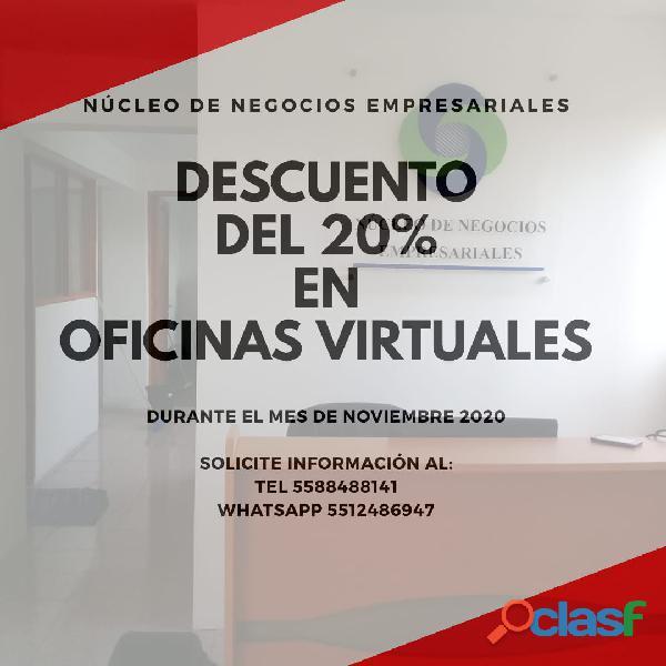 Beneficios Incluidos en Oficina Virtual,