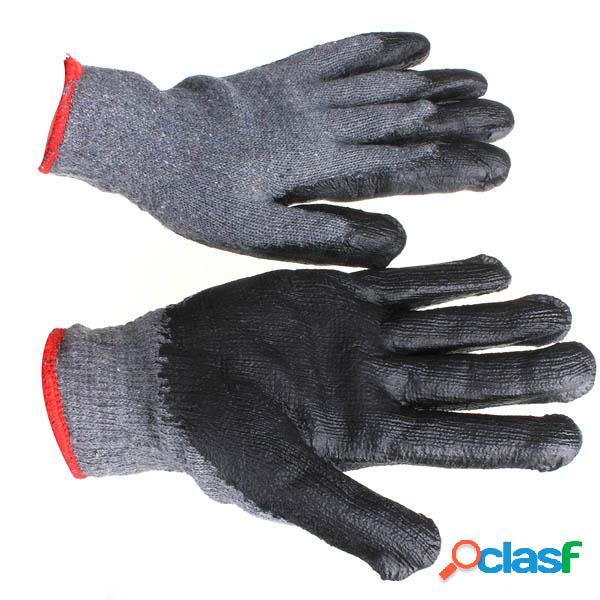 Guantes de jardinería de látex antideslizantes lg-ga4 de loskii guantes de trabajo de seguridad laboral