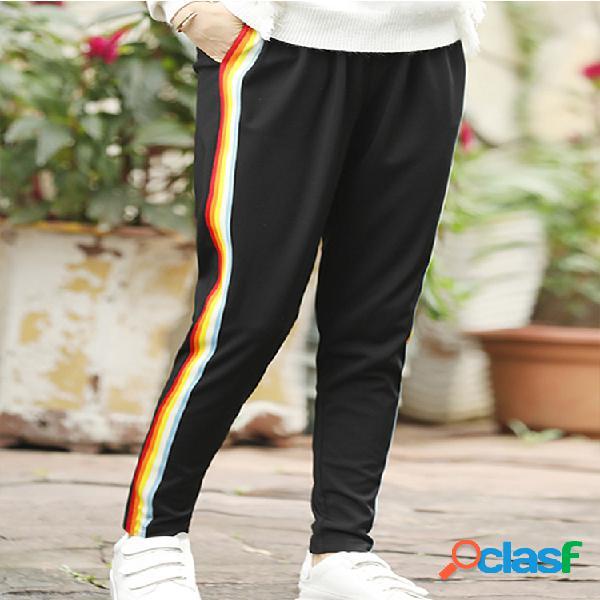 Pantalones deportivos de moda de talle elástico para mujeres