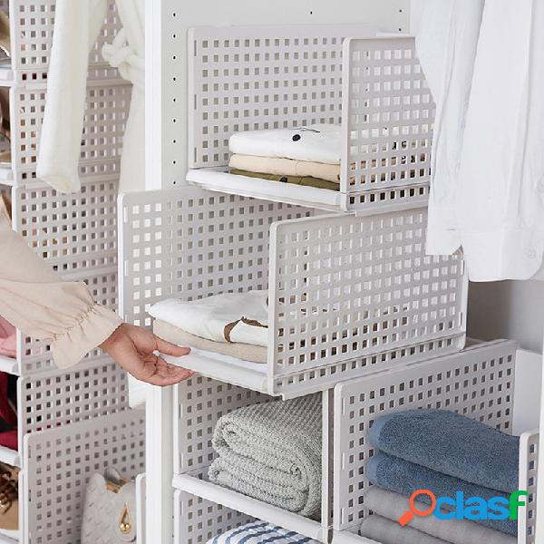 Almacenamiento multifunción caja cajón tipo armario estantería de capas cestas de organización de cocina