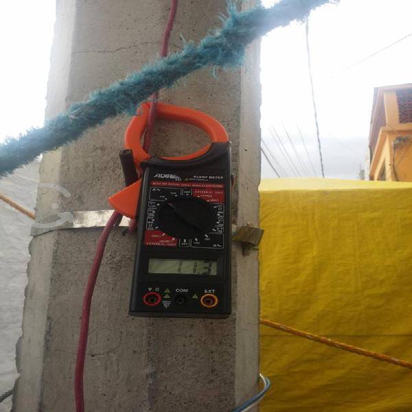 Amperimetro nuevo