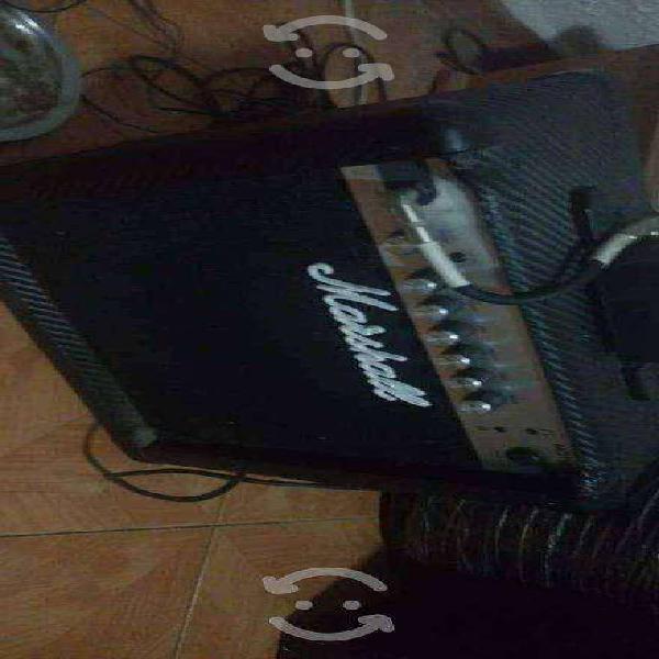 Amplificador marshall mg15cfr guitarra eléctrica