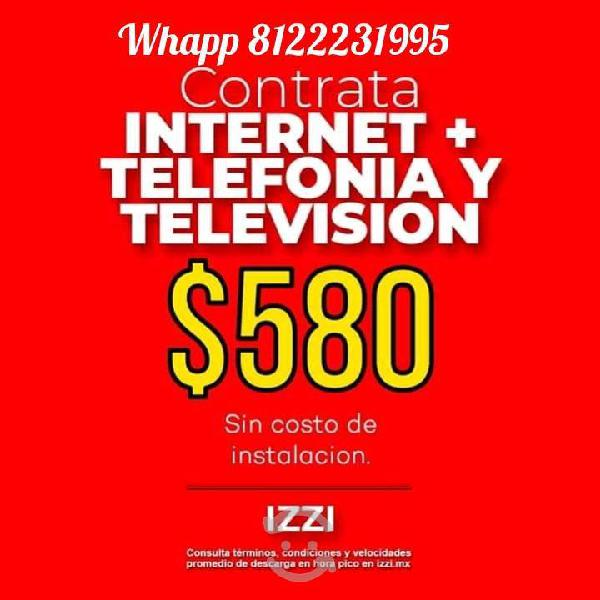 Cable, internet y telefonia
