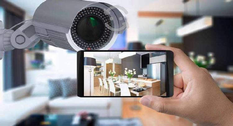 Camaras de video vigilancia + disco + instalacion