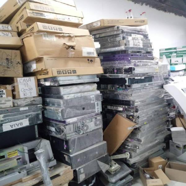 Compra de equipo de cómputo obsoleto e inservible