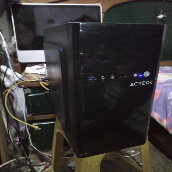 Computadora cpu intel pentium dual core/4gb/hdd300