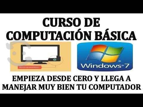 Curso de computacion basica personas nerviosas