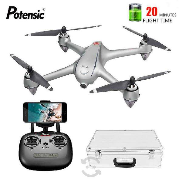 Drone potensic d80 full hd - vuelo inteligente