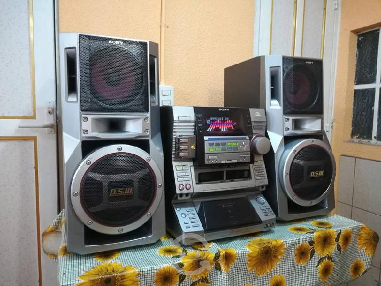 Equipo sony hi-fi mod. lbt xg80...