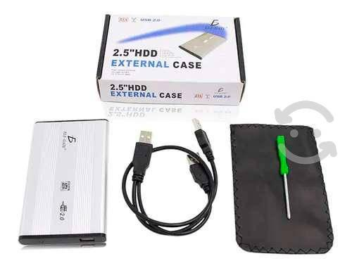 Gabinete case disco duro sata 2.5 laptop ele-gate