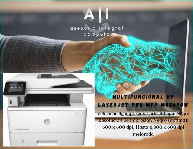 Impresora hp laserjet pro mfp m426fdw