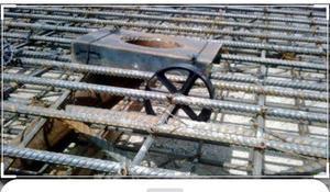 Separador de 5 cm para muros de contención