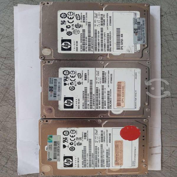 Disco duros 2.5 sas para servidores