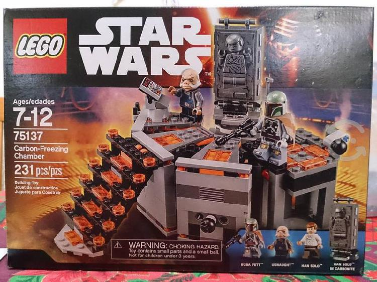 Lego star wars han solo carbonite chamber