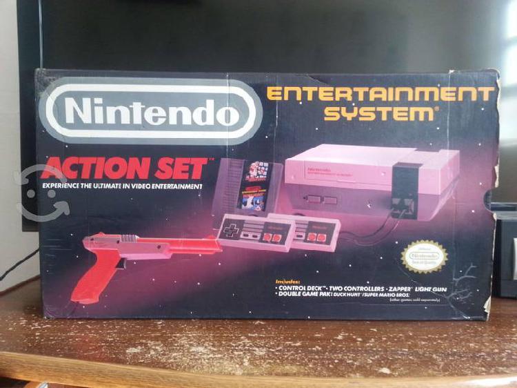 Nintendo nes con 25 juegos