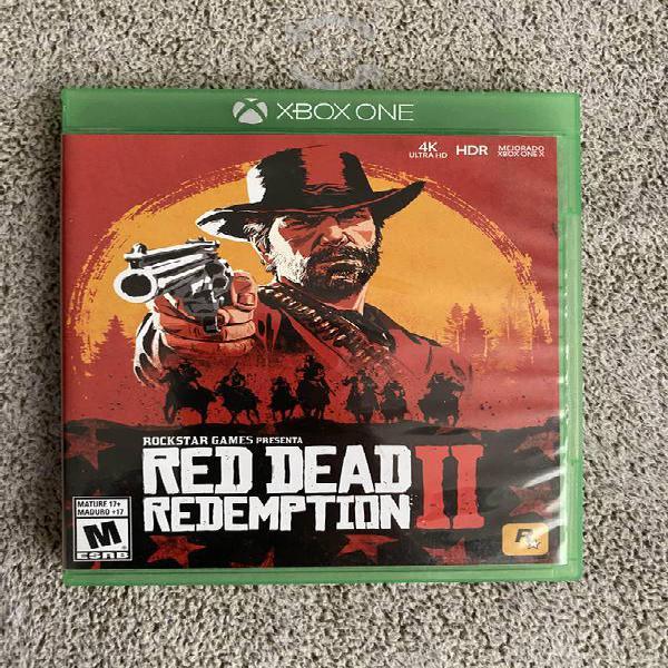 Red dead redeption 2 xbox one, como nuevo