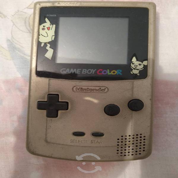 Game boy color edicion pokemon gold silver