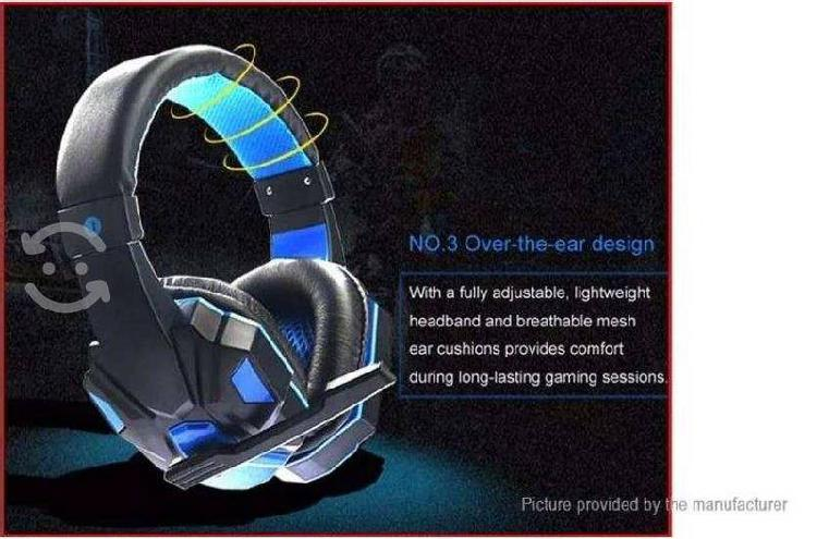 Audifono gamer con micrófono- para video llamad