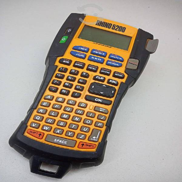 Etiquetador rotulador profecional dymo rhyno 5200