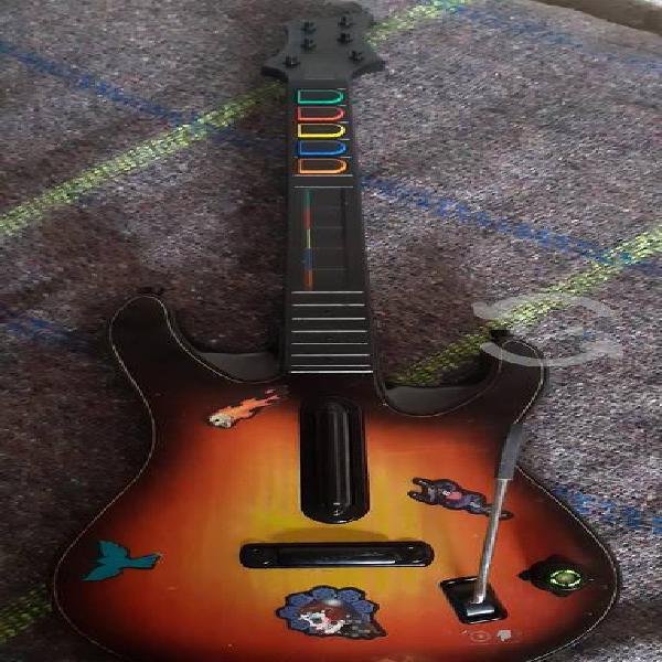 Guitarra inalambrica xbox 360 funcionando al 100