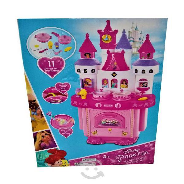 Set de cocina disney princesas con 11 accesorios