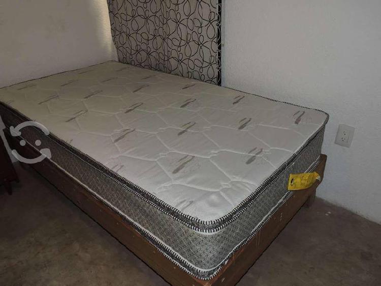 Colchón individual con base